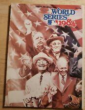 1984 World Series Official Program San Diego Padres vs. Detroit Tigers