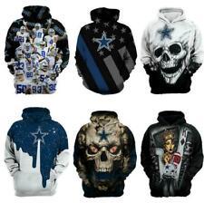 Dallas Cowboys Hoodie Football Hooded Sweatshirt Sports Jacket Gift for Fans