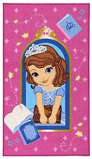 FR-19946-Tapis pour les Chambres d'Enfants Rose Princesse 140x80 - Farah1970