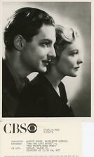 ROBERT DONAT MADELEINE CARROLL THE THIRTY-NINE STEPS ORIGINAL 1973 CBS TV PHOTO