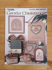 Leisure Arts 'Gentle Christmas' Cross Stitch Charts VGC