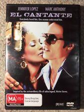 El Cantante - Jennifer Lopez , Marc Anthony - Like New R4 DVD