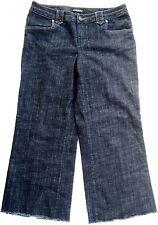 "Lane Bryant Dark Blue Denim Jeans Women's Sz 16   36"" W X 27"" Inseam"