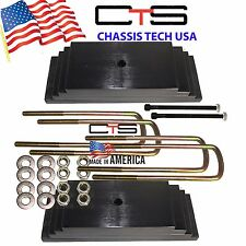 """Chassis Tech 99-04 FORD F250 Only 2.0"""" Front Leveling lift kit Semi Round Ubolts"""