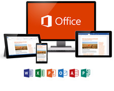 Microsoft Office 365 (2016) Lifetime License - Windows, Mac, Mobile - 5 Devices