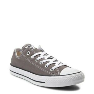 Converse All Star Low Womens & Mens Canvas Chuck Taylor Trainers Shoes Grey