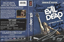The Evil Dead Ultimate Edition DVD Box, SIGNED Bruce Campell + The Ladies!!