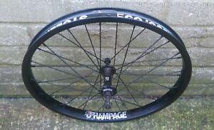 """STLN Rampage BMX Bike Front Wheel 20"""" Sealed Bearing Hub Double Walled Rim"""