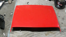 99 04 Ford Mustang Gt Hood Scoop With Grille Insert Oem Clean 00 01 02 03 Red