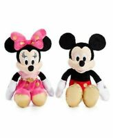 "Disney Minnie Mouse or Mickey Mouse 16"" Plush Doll Stuffed Animal NWT"