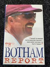 More details for ian botham autograph - the botham report - hardback book signed