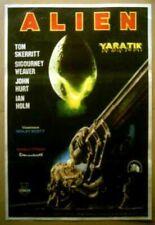 Ridley Scott Sigourney Weaver Alien Turkish Movie Poster One Sheet Original
