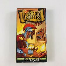 The Story Keepers A.D 64 Betrayed (VHS, 2002) Bible Story Animated Christianity