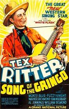 Song of the Gringo (1936) Tex Ritter, Joan Woodbury Western DVD