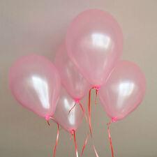 100 pcs 10 inch Colorful Pearl Latex Balloon Celebration Party Wedding Birthday