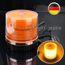Rundumleuchte LED Blinklicht Warnleuchte Magnetfuß Licht Pannenlicht 12V Gelb DE