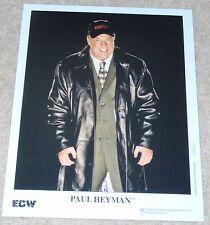 """PAUL HEYMAN ECW WWE PHOTO PRINT 8x10"""" WRESTLING"""