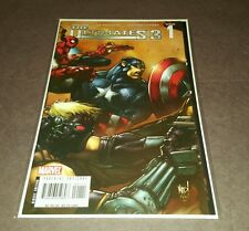 THE ULTIMATES 3 Issue #1 Wrap Around Cover Joe MAD! (2007)