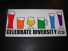 BELLS BREWING Celebrate Diversity LOGO STICKER decal craft beer brewery