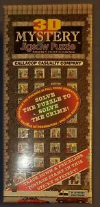 3D Mystery Jigsaw Puzzle Callacop Casualty Company Buffalo Games 504 Pieces New