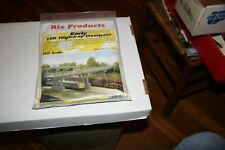 HO RIX PRODUCTS #103 EARLY HIGHWAY OVERPASS NEW