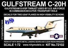 RVHP Models 1/72 Gulfstream C-20H (USAF Hi-Vis) Resin Model Kit