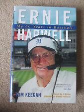 "SIGNED ""ERNIE HARWELL: MY 60 YEARS IN BASEBALL"" 2002 HC/DJ BOOK by TOM KEEGAN #2"