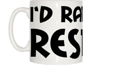 I'd Rather Be Resting Mug
