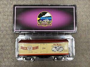 + MTH Standard Gauge Tinplate Du Bois Brewing Co. 500 Series Reefer Car 10-2218