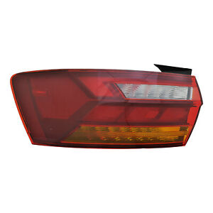 VW2804128 New Replacement Driver Outer Tail Light Assembly Fits 2019-2020 Jetta