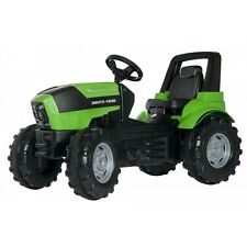 Rolly Toys Deutz Agrotron 7250 TTV Traktor ohne Frontlader Tretttraktor grün