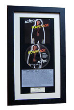 AC/DC Powerage CLASSIC CD Album GALLERY QUALITY FRAMED+EXPRESS GLOBAL SHIPPING