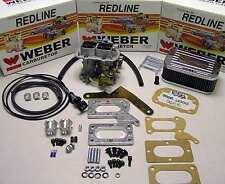 Mitsubishi Dodge 2.0 2.6 1979 to 1989 Weber Carb Conversion Kit Mikuni to Weber