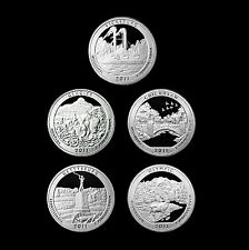 2011 S America the Beautiful National Parks ~ Clad Proofs in Labelled Coin Flips