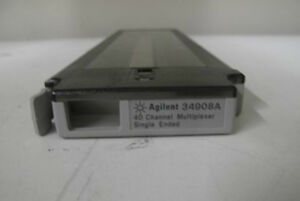 Agilent 34908A 40 Channel Single-Ended Multiplexer Module