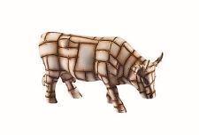*NEW* Cow Parade 47847 MOOTALLICA - Resin Cow Figurine - Medium