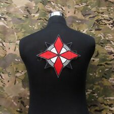 Resident Evil Umbrella Corporation U.S.S Logo Big Back Of The Body Patch B3080