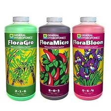 Flora Series 3 Quarts - Floragro Floramicro & Florabloom 32oz gro bloom micr