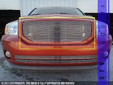 GTG 2006 - 2011 Dodge Caliber 1PC Polished Upper Billet Grille Grill Insert