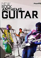 New Rock Anthems GUITAR - Noten + Playalong CD