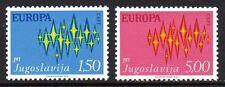 Yugoslavia - 1972 Europa Cept Mi. 1457-58 MNH