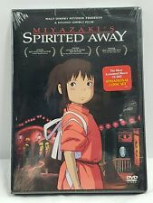 Spirited Away Dvd Miyazaki's Anime Movie Animation Studio Ghibli Walt Disney Fs
