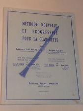 partition SONGBOOK sheet music METHODE de CLARINETTE laurent delbecq ROGER GILET