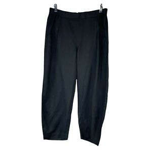 Eileen Fisher Tapered lantern Pants in Women sz MP Pockets Pull On