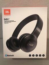 JBL Harman E45BT Wireless On-Ear Bluetooth Headphones JBLE45BTBLKAM New Sealed