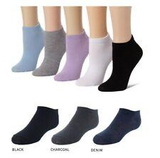Multi-Buy 100% Cotton Ladies Womens Girls Trainer Socks Ankle Sports Liner Socks