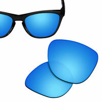 Polarized Replacement Lenses for-OAKLEY Frogskins Sunglasses Ice Blue UVA&UVB