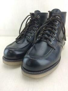 RED WING Lace Up 25.5cm 09874 0 Dog Work Mock Two 987 US 7.5 black boots