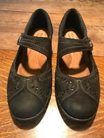 Rockport Cobb Hill Collection Nadia 7M Women's Mary Jane Black Suede