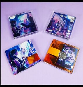 lukHash - We Are Stardust Limited Edition Minidisc ORANGE NRW MD 1/70 RARE